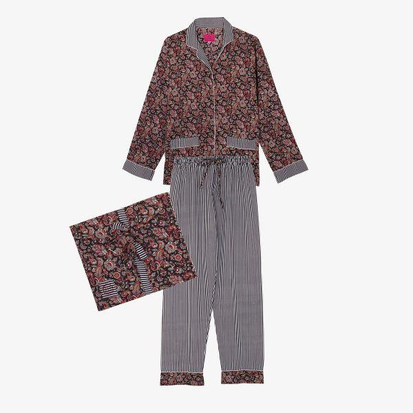 Pyjama indien noir