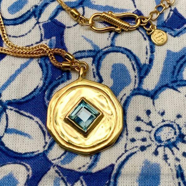 SWANN (Topaze bleue)