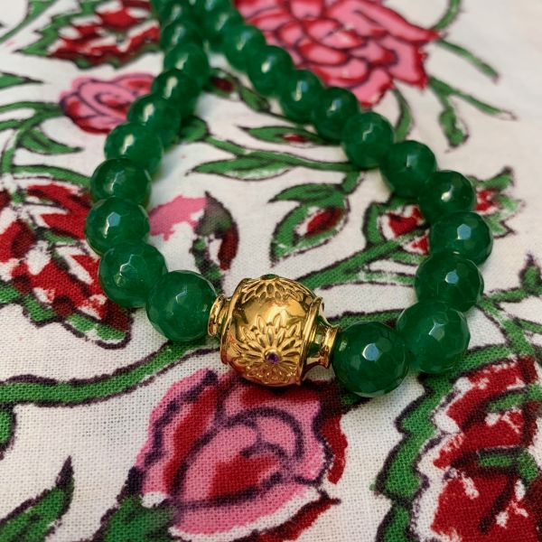 MOTEE (Collier large vert)