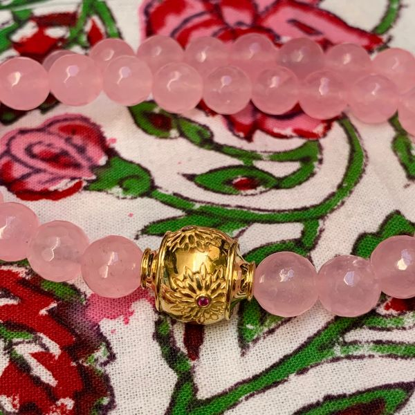 MOTEE (Collier large rose)