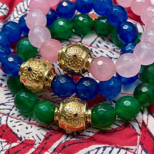 MOTEE (Bracelet large vert)