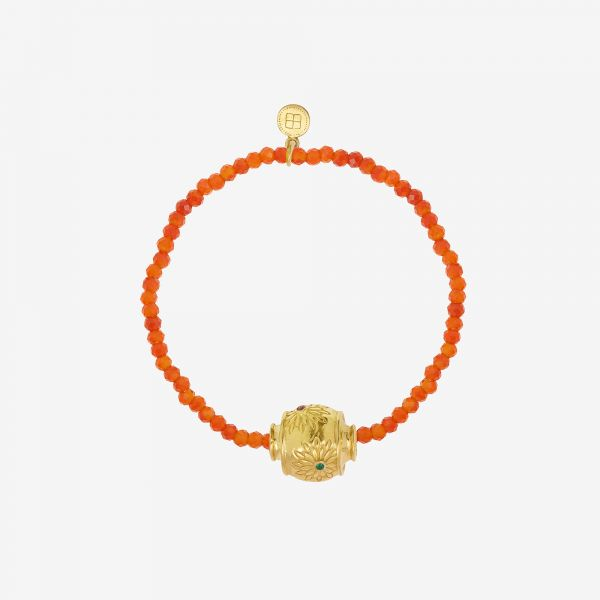 MOTEE (Bracelet fin orangé)