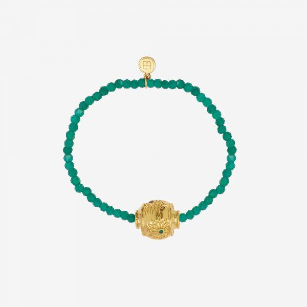 MOTEE (Bracelet fin vert)