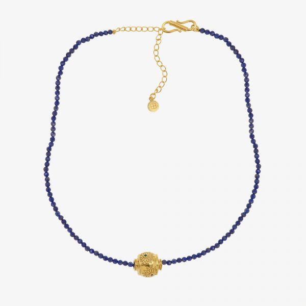 MOTEE (Collier fin bleu)
