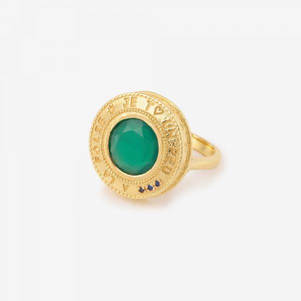 A LA FOLIE (Onyx vert)