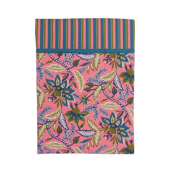 NAPPE INDIENNE ROSE