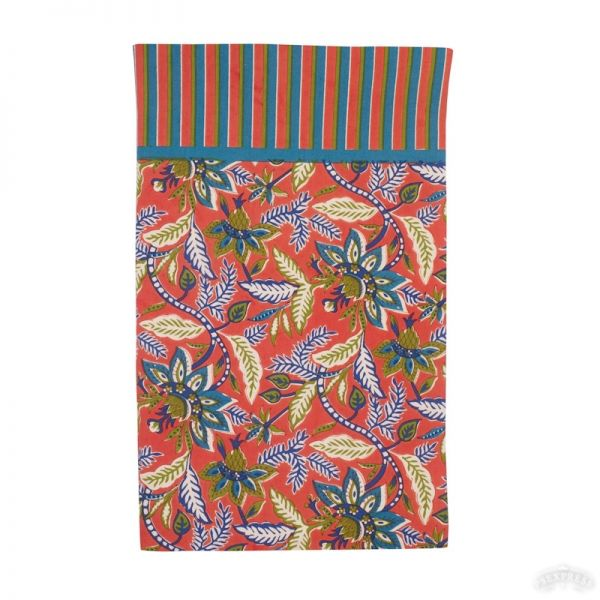 NAPPE INDIENNE TERRACOTTA
