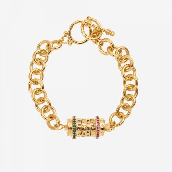 MOT DE PASSE bracelet (chaine)