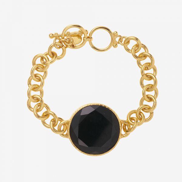 SCARLETT Bracelet (Onyx noir)