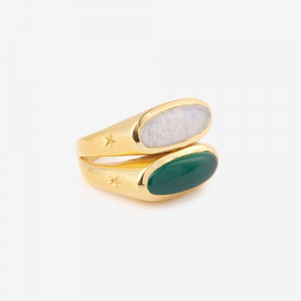 NOUS (Onyx vert et pierre...