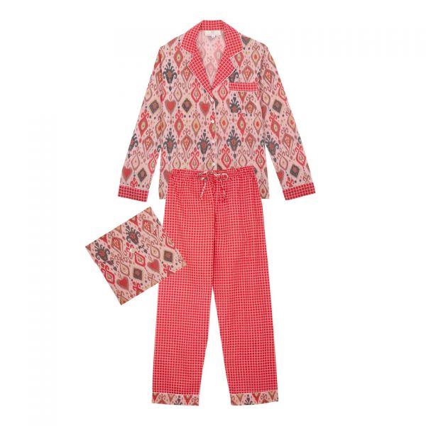 Pyjama indien (lamé rose /...