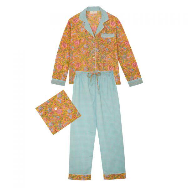 Pyjama indien (fleurs...
