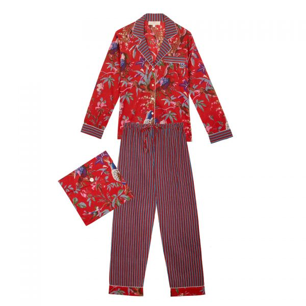 Pyjama indien (coton fleurs...