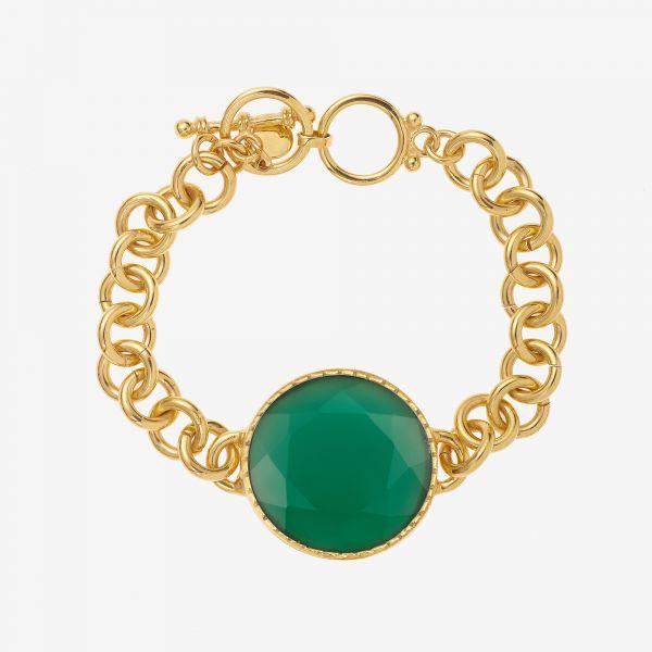 SCARLETT Bracelet (Onyx vert)